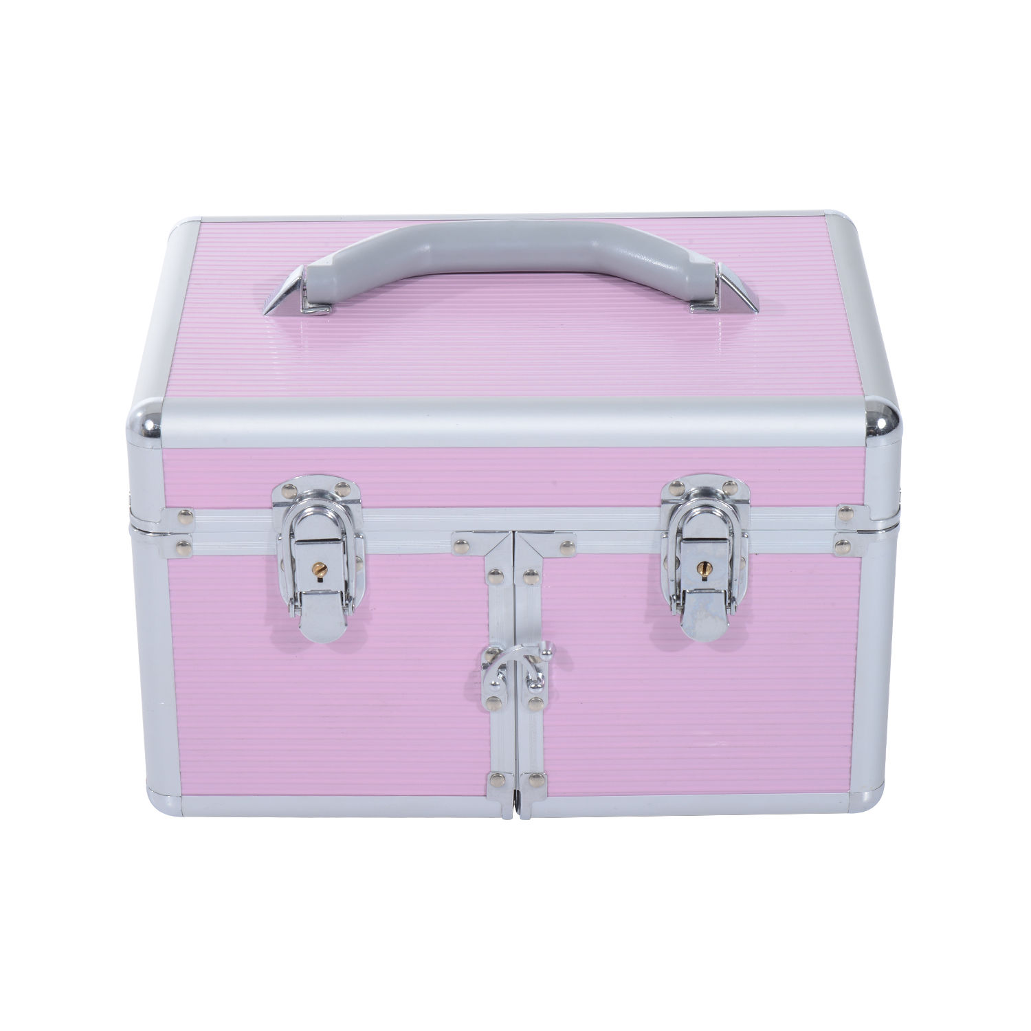 how to organize a makeup train case