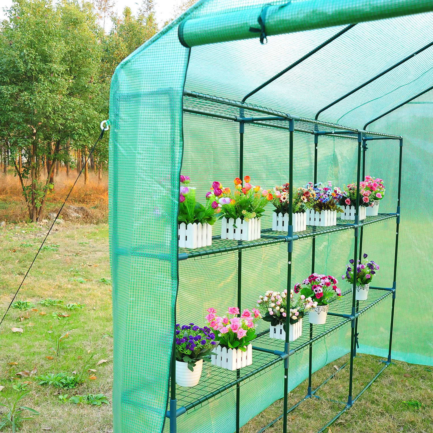 in pictures lighting greenhouse gardening garden to vegetable start a cool