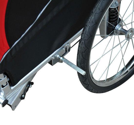 Aosom Elite Pet Dog Bike Trailer Bicycle Trailer Stroller