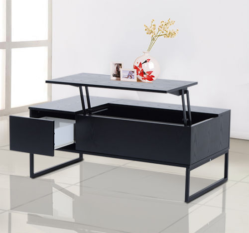 """Coffee Table With Storage Ebay: Coffee Table Tea 43"""" Lift Top Storage Drawer Wood Living"""