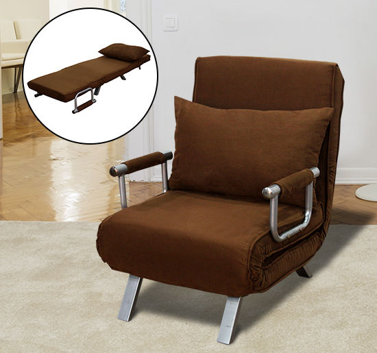 Terrific Details About Sofa Bed Arm Chair Convertible Single Dorm Room Couch Recliner Sleeper Folding Spiritservingveterans Wood Chair Design Ideas Spiritservingveteransorg