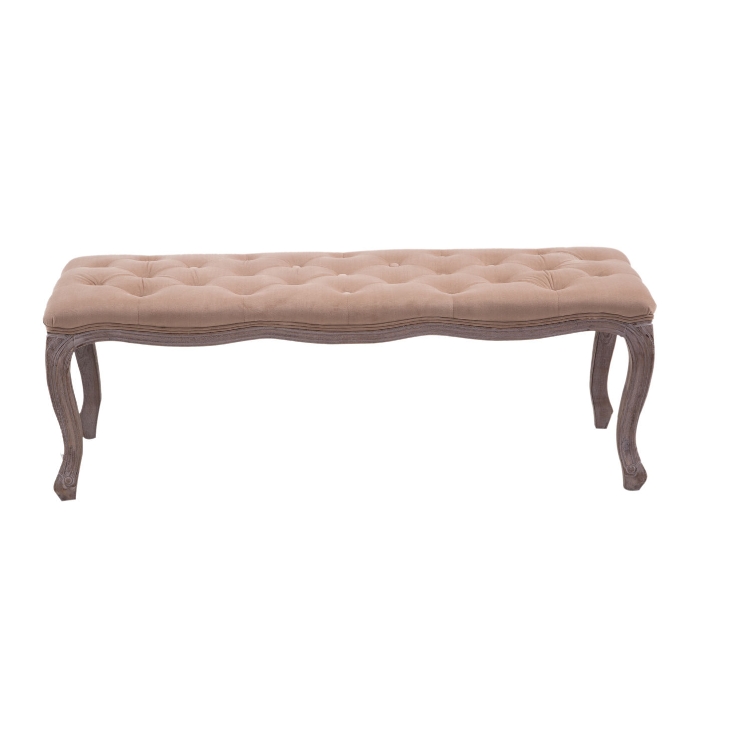 Tufted Foyer Bench : Upholstered bench tufted end of bed seat ottoman wood