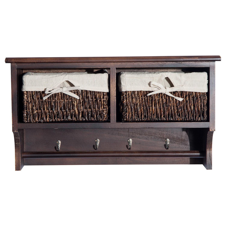 wall hat and asp organize mounted rack racks hooks price cedar coat it with shelf