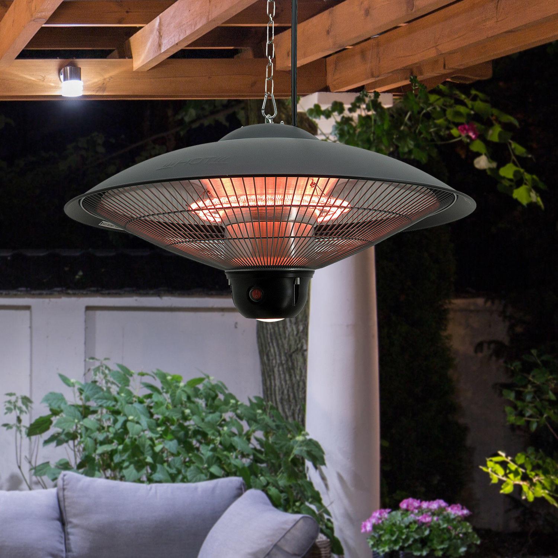 Hanging Ceiling Electric Halogen Patio Heater Outdoor