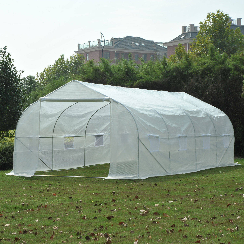 Portable Heavy Duty 20/'x10/'x7/' Walk-In Green House Plant Garden Greenhouse 20ft