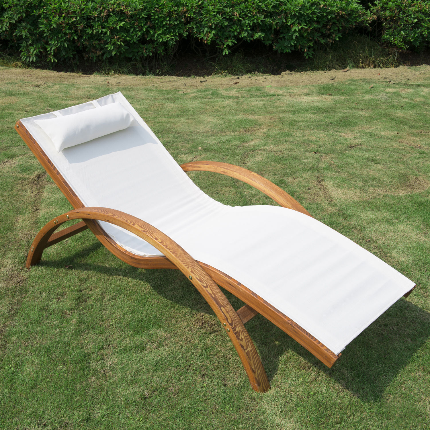 wood patio lounger waffe parishpress co