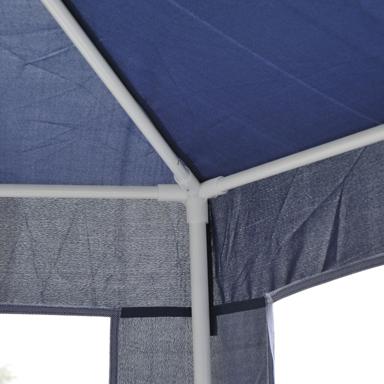 Hexagonal-Patio-Gazebo-Outdoor-Canopy-Party-Tent-Activity-Event-w-Mosquito-Net thumbnail 19