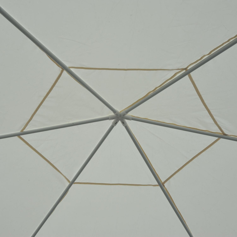 Hexagonal-Patio-Gazebo-Outdoor-Canopy-Party-Tent-Activity-Event-w-Mosquito-Net thumbnail 8