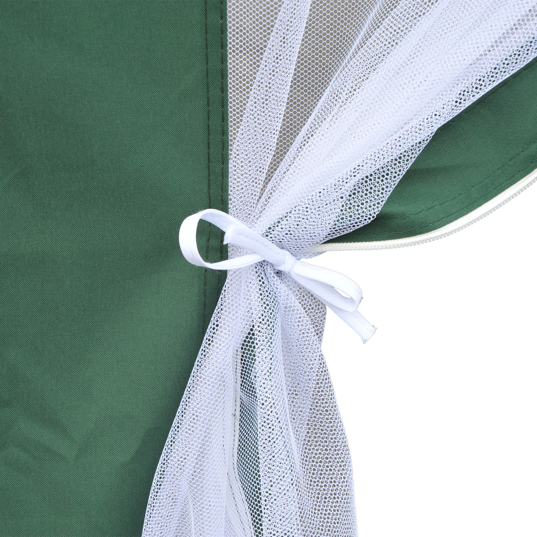 Hexagonal-Patio-Gazebo-Outdoor-Canopy-Party-Tent-Activity-Event-w-Mosquito-Net thumbnail 27
