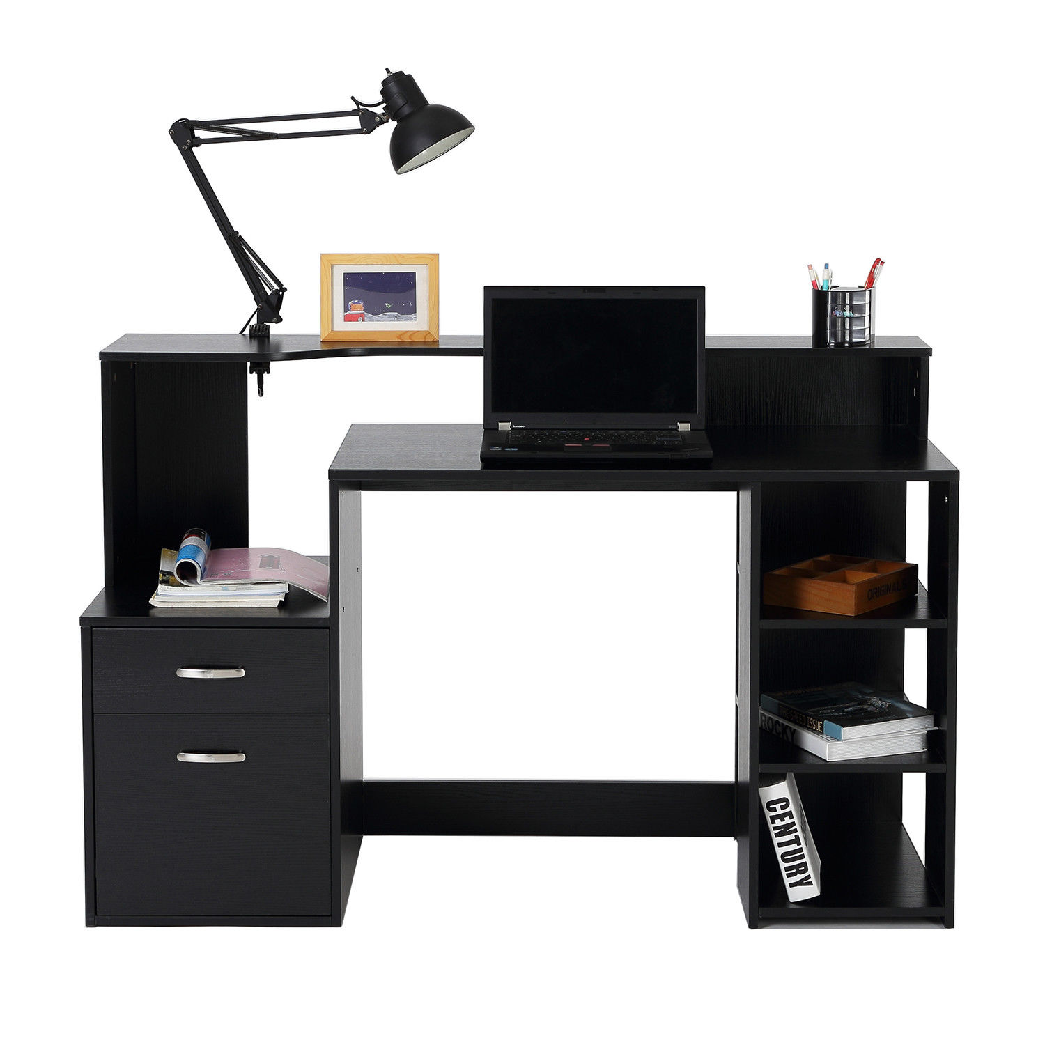 Computer Desk Home Office Workstation Laptop Writing Table