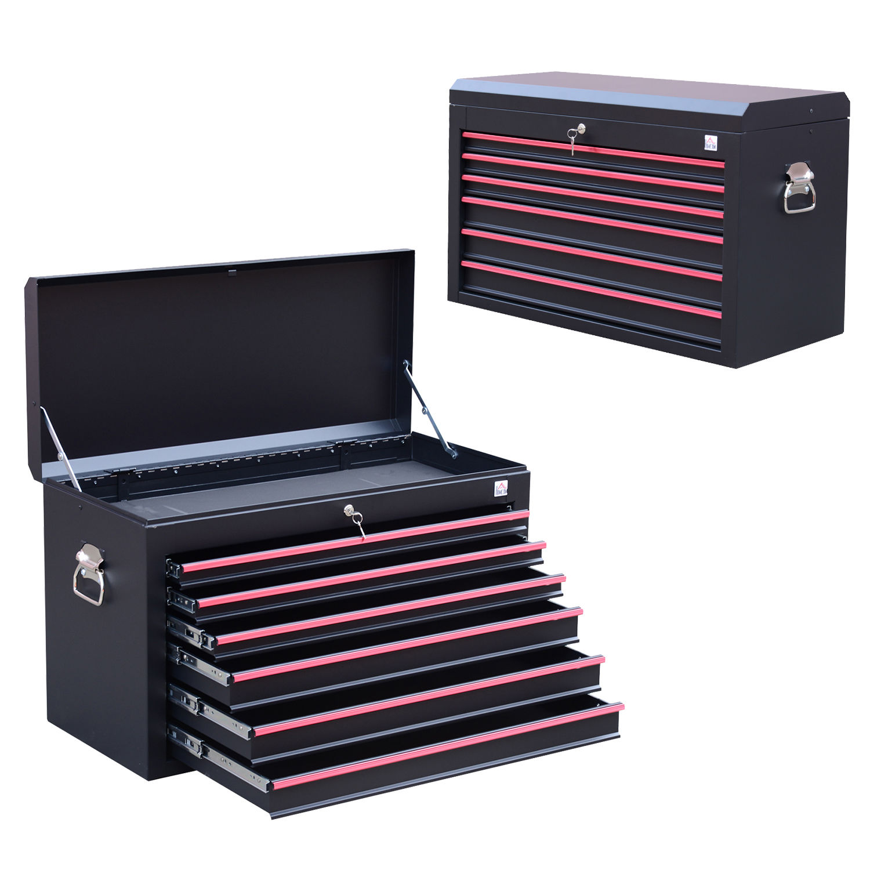 Heavy-Duty-Tool-Storage-Cabinet-Box-Steel-Chest-  sc 1 st  eBay & Heavy Duty Tool Storage Cabinet Box Steel Chest 7 Drawers Garage w ...
