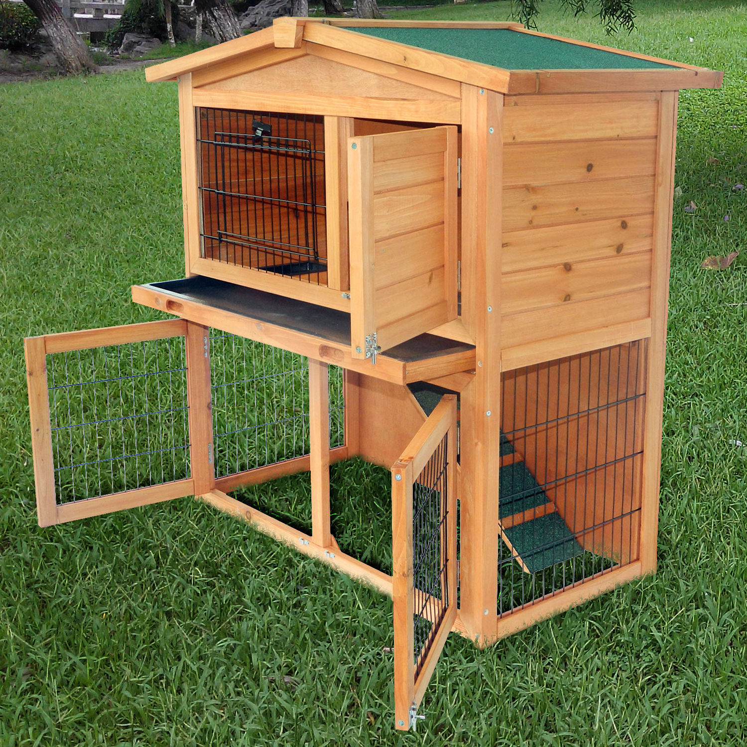 rabbit for cage hutch to dsc sale handmade bun blurbs estates build under hutches this a how bunny