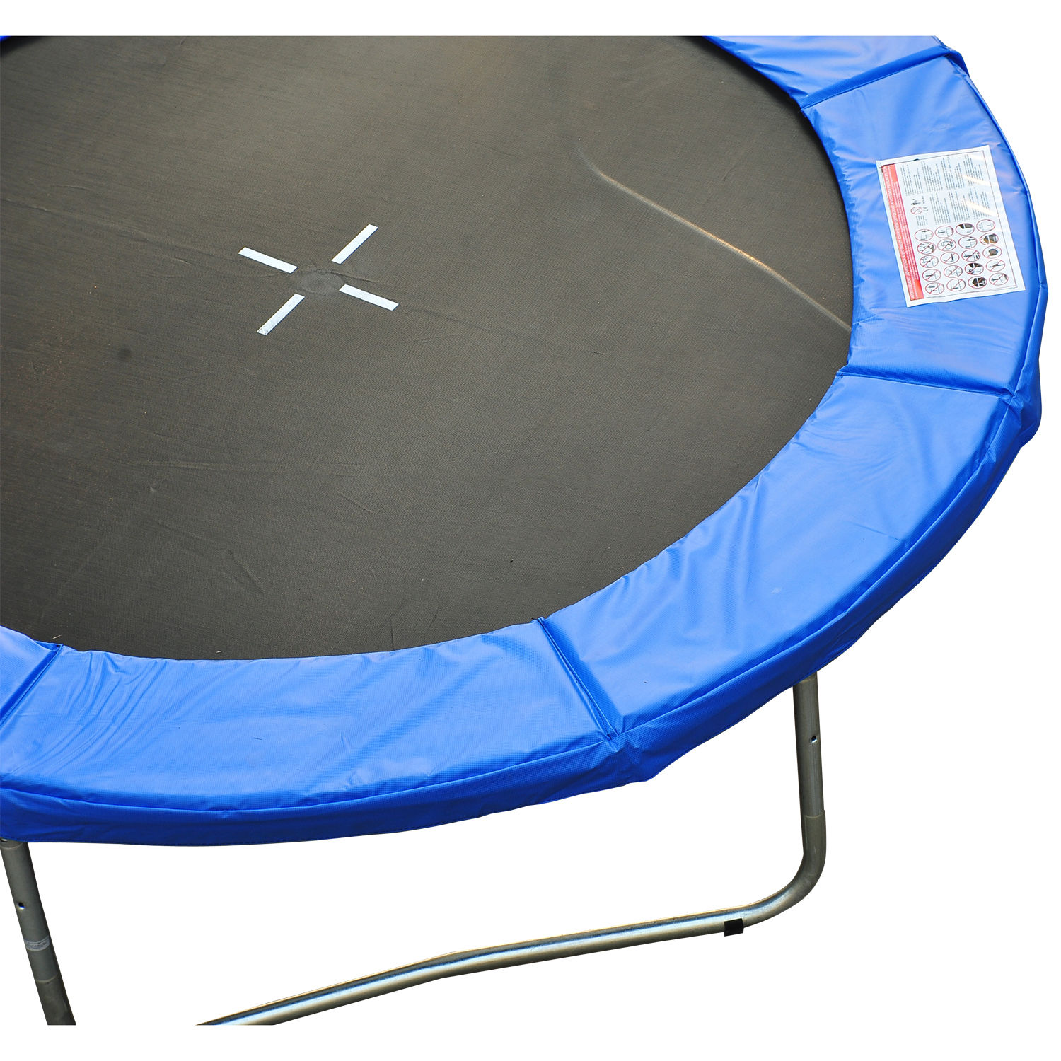 8ft-Trampoline-Pad-Spring-Safety-Replacement-Gym-Bounce-Jump-Cover-EPE-Foam thumbnail 5