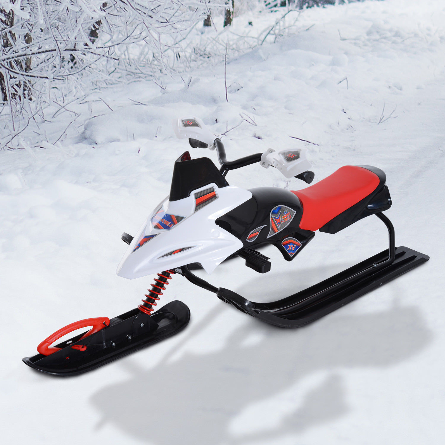 snow mobile scooter winter sled motor snow racer rush. Black Bedroom Furniture Sets. Home Design Ideas