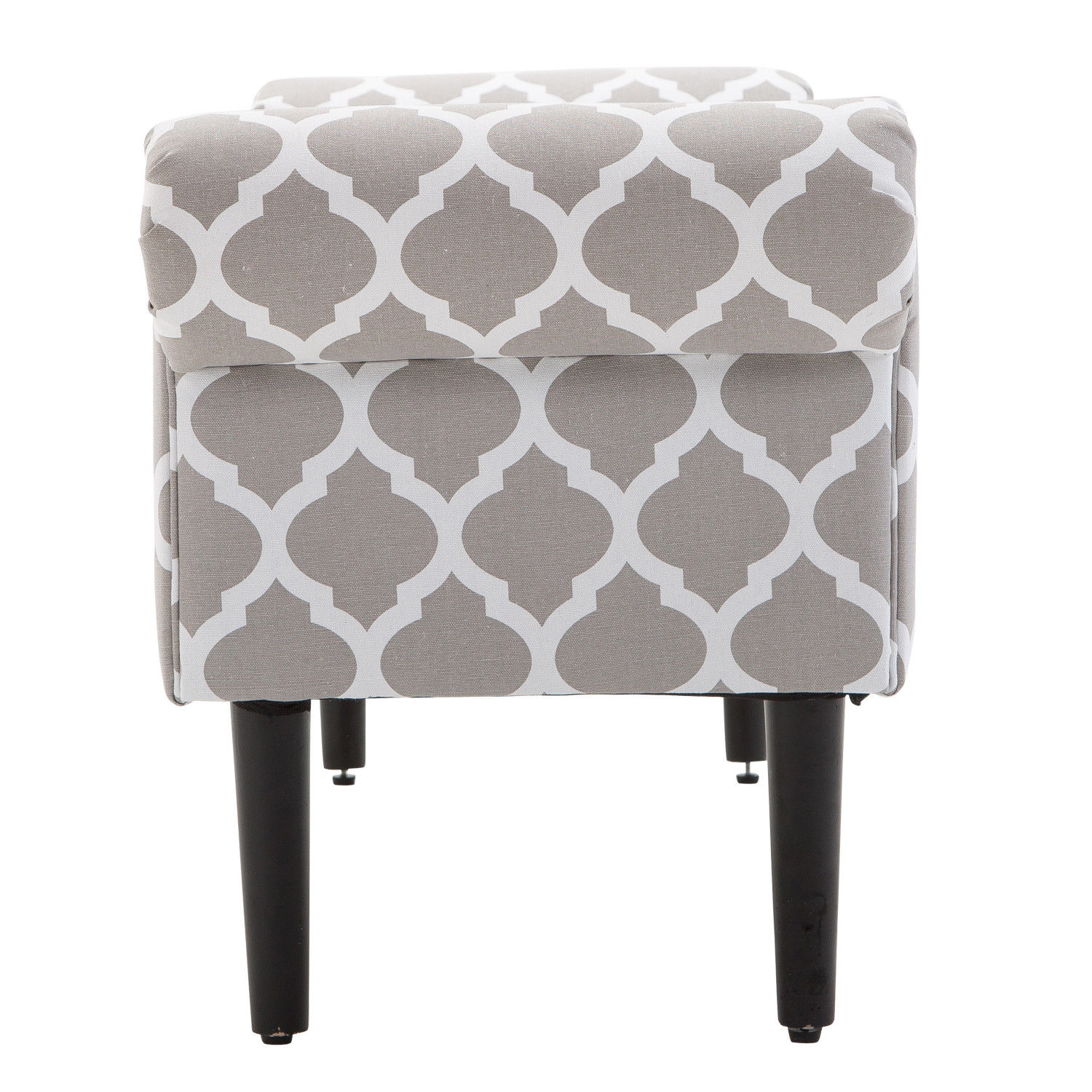Elegant-Rolled-Arm-Bench-Bedside-End-of-Bed-Footstool-w-Arms-2-SIZE thumbnail 14