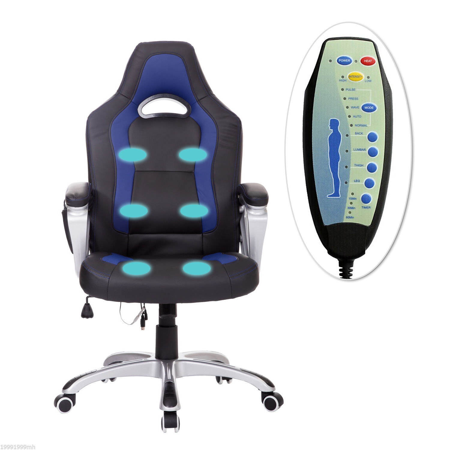 Fantastic Details About Race Car Heated Massage Office Chair Executive Gaming Chair Creativecarmelina Interior Chair Design Creativecarmelinacom
