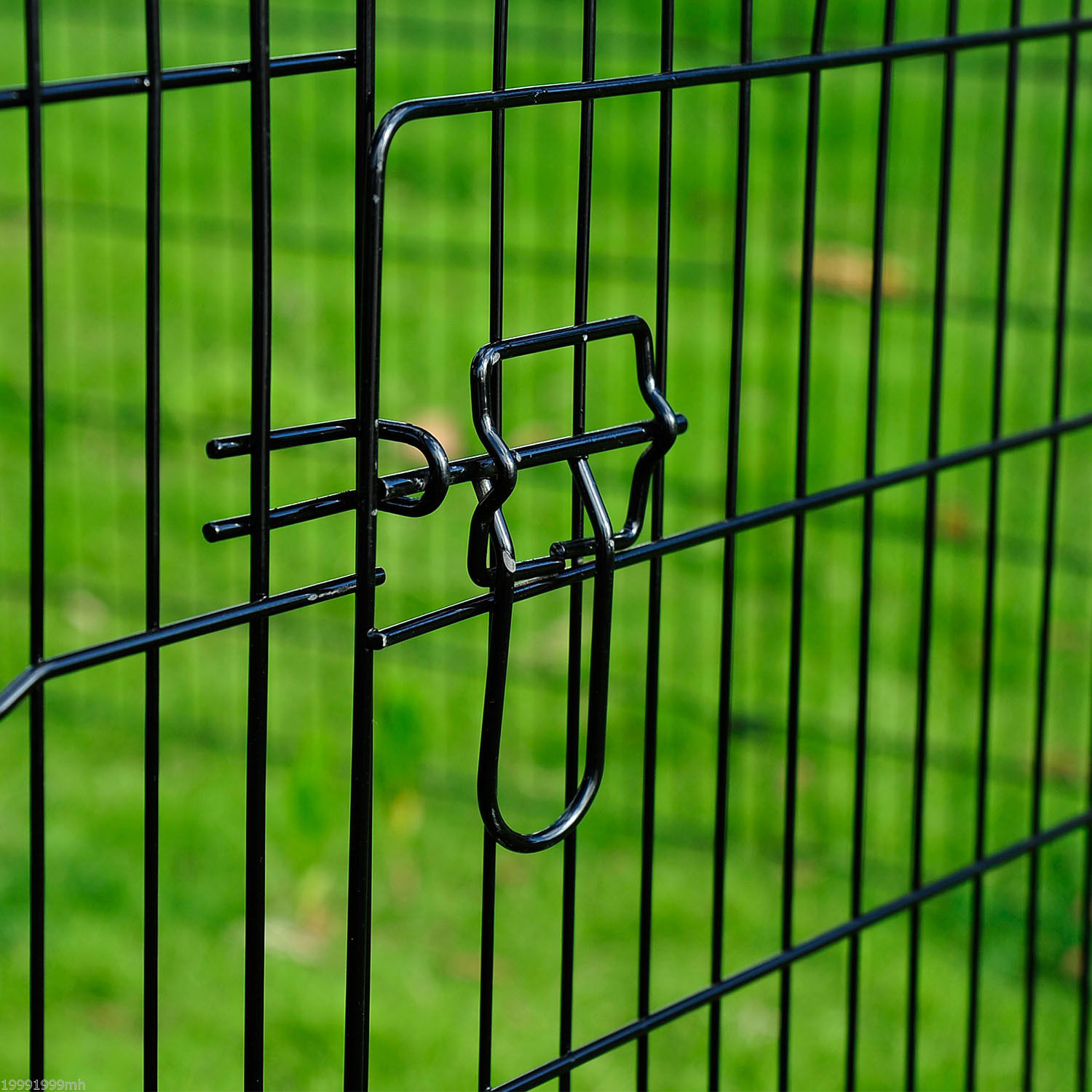 8-Panel-Metal-Pet-Playpen-Dog-Puppy-Cat-Rabbit-Exercise-Fence-Yard-Kennel
