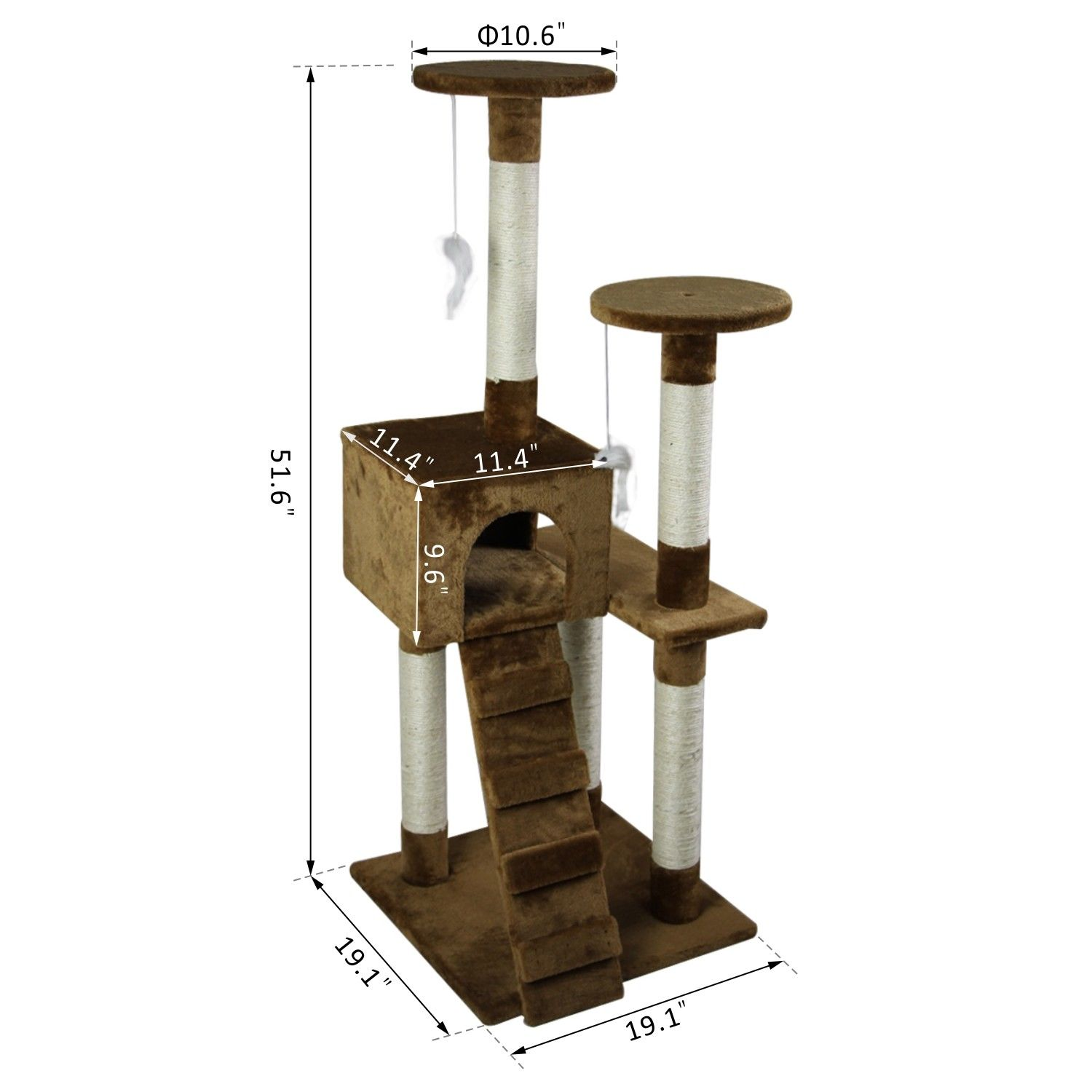 52-039-039-Cat-Tree-Multi-Level-Tower-Kitten-Condo-House-Activity-Center-Pet-Furniture