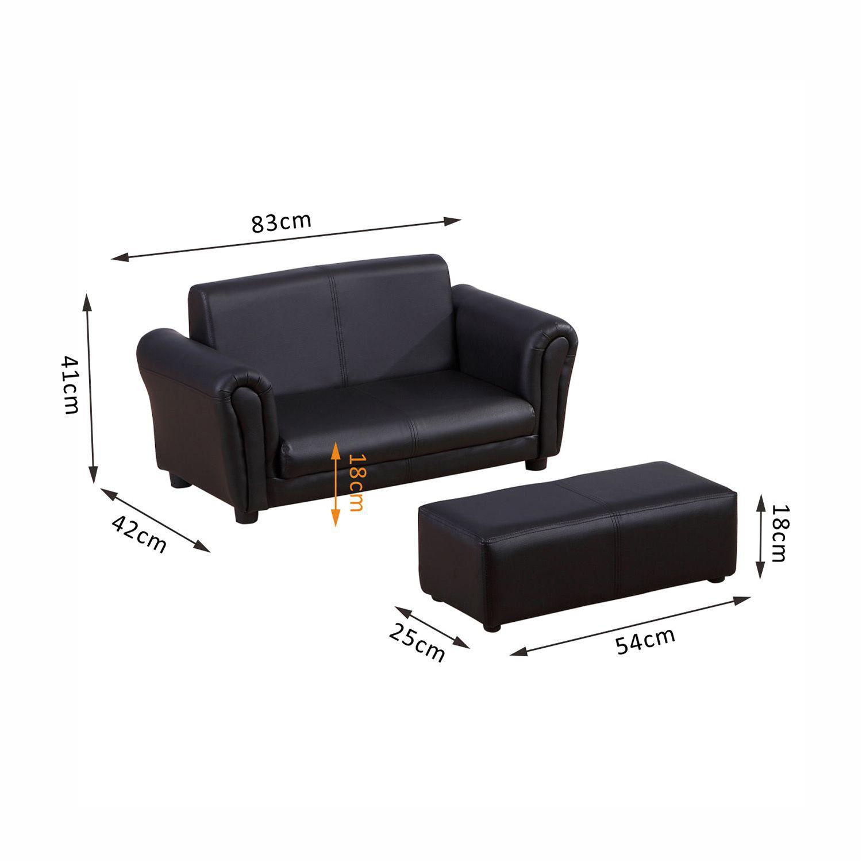 Children-Kid-Sofa-Set-Recliner-Armchair-Footstool-Ottoman-Multi-Colours-Sizes thumbnail 3