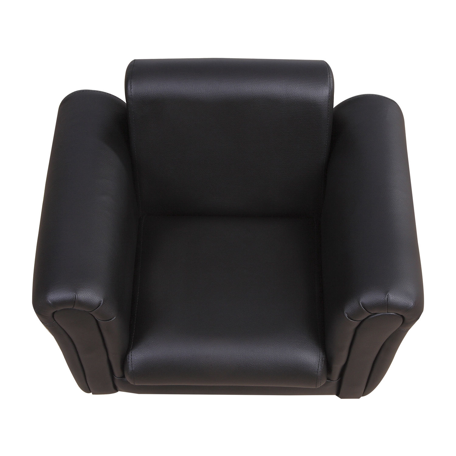 Kids-Sofa-Children-Chair-Seat-Armchair-W-Footstool-Playroom-Bedroom-Black-Pink thumbnail 5