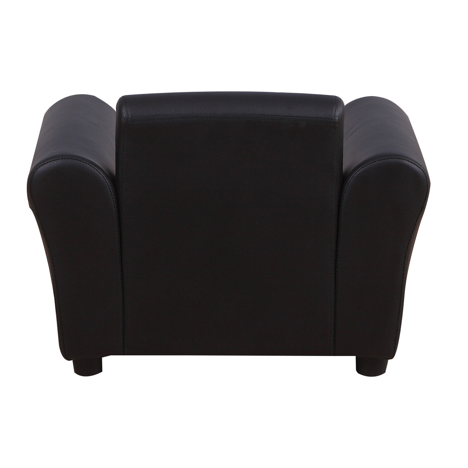 Kids-Sofa-Children-Chair-Seat-Armchair-W-Footstool-Playroom-Bedroom-Black-Pink thumbnail 6