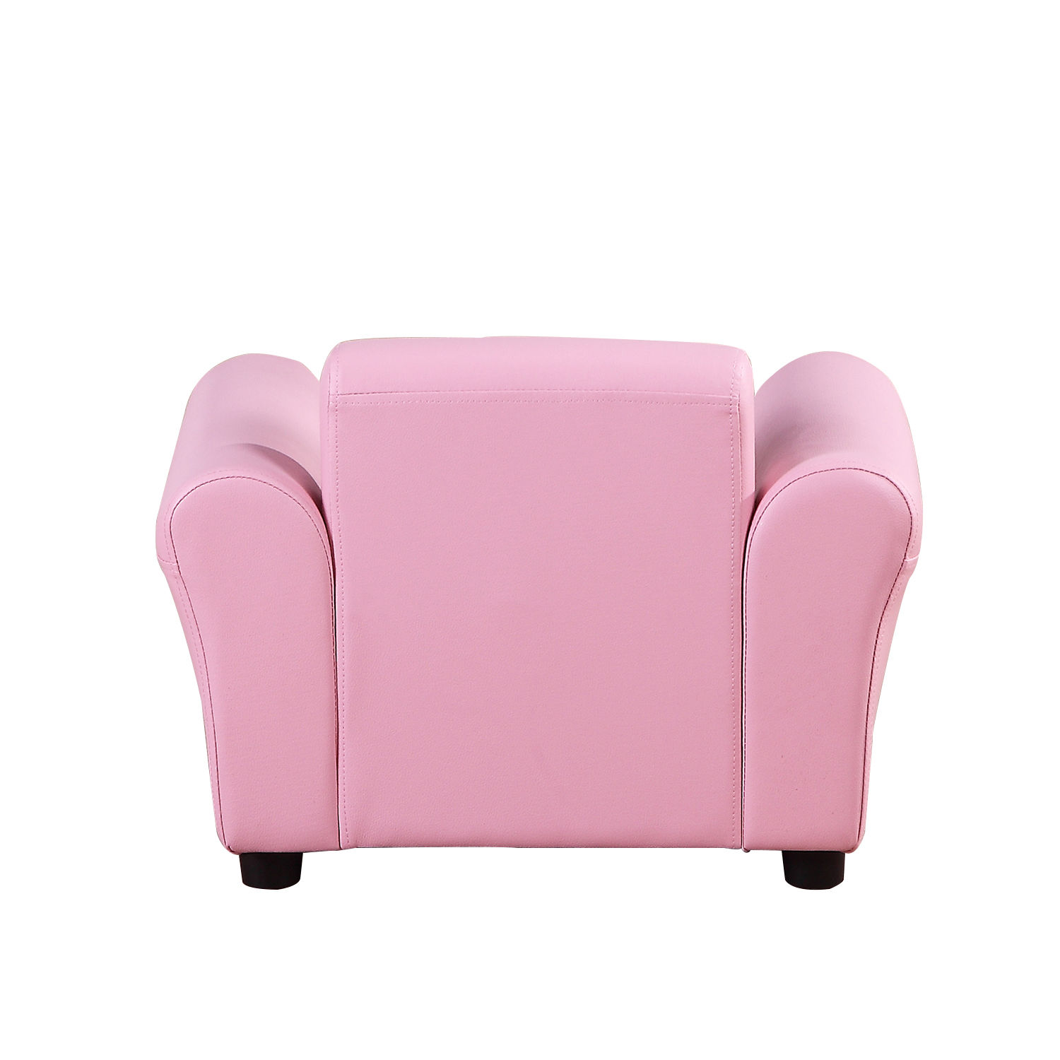 Kids-Sofa-Children-Chair-Seat-Armchair-W-Footstool-Playroom-Bedroom-Black-Pink thumbnail 15