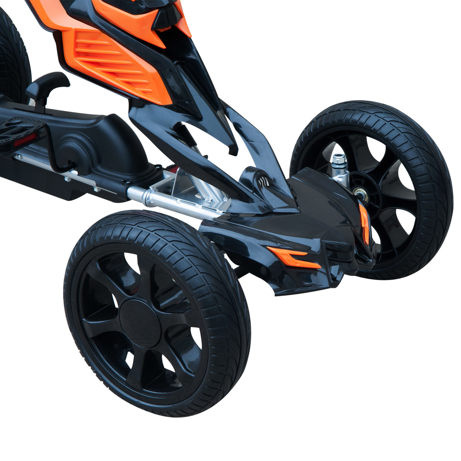 Kids-Pedal-Go-Cart-Children-Outdoor-Ride-on-Car-Racing-Toy-Wheels-4-Choices