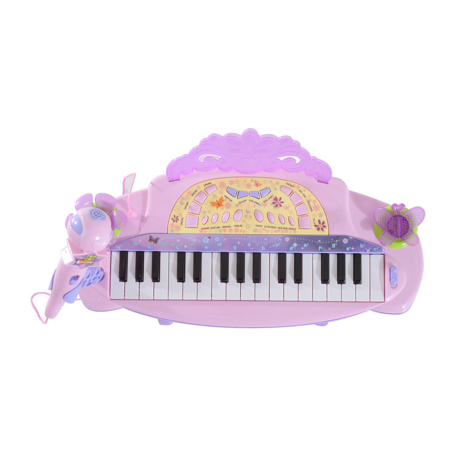 37-32-Key-Kids-Electronic-Keyboard-Mini-Grand-Piano-Stool-Microphone-Musical-Toy thumbnail 45