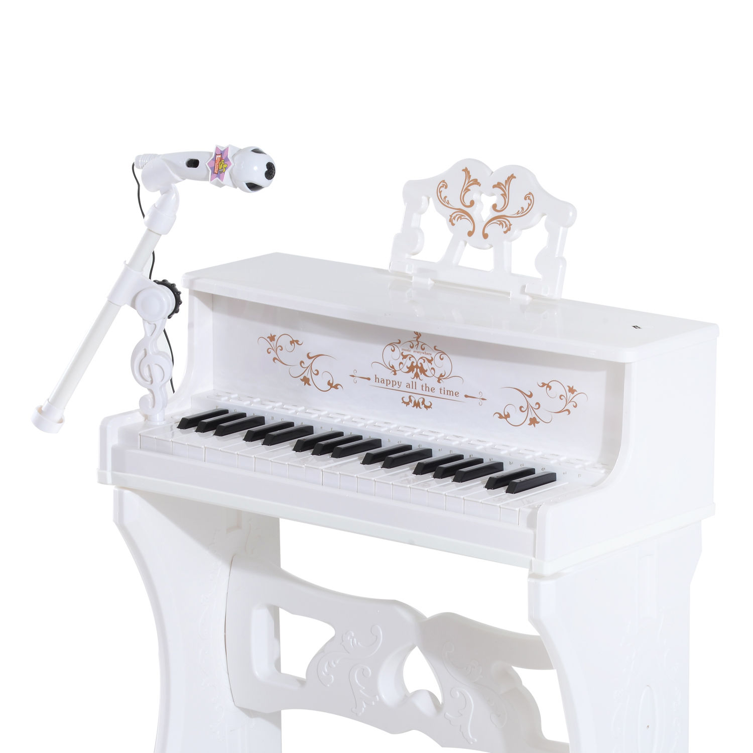 37-32-Key-Kids-Electronic-Keyboard-Mini-Grand-Piano-Stool-Microphone-Musical-Toy thumbnail 55