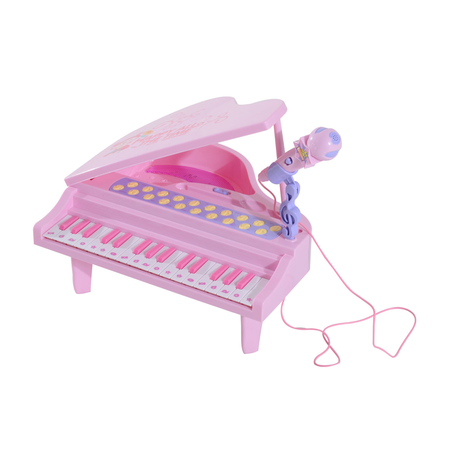 37-32-Key-Kids-Electronic-Keyboard-Mini-Grand-Piano-Stool-Microphone-Musical-Toy thumbnail 29