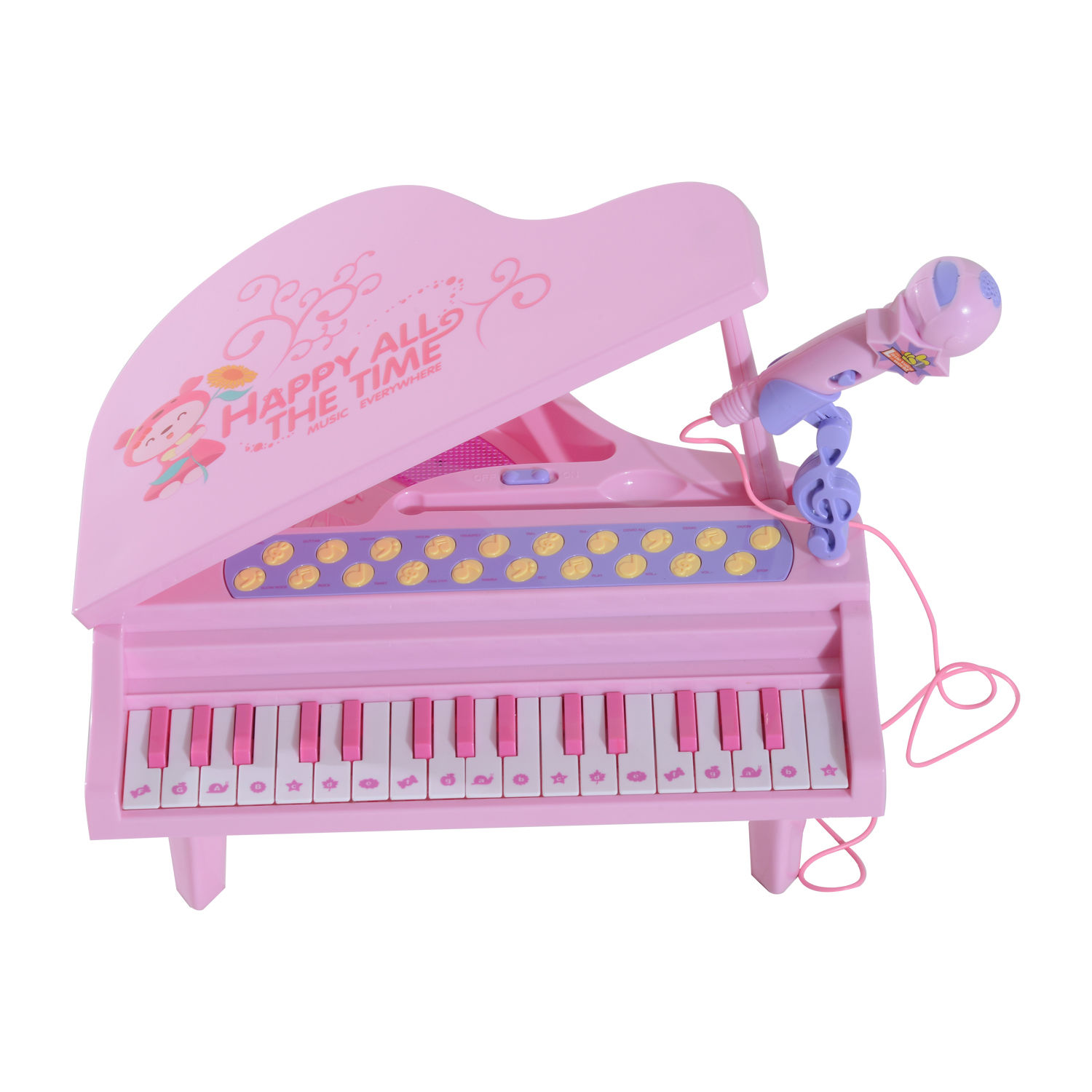 37-32-Key-Kids-Electronic-Keyboard-Mini-Grand-Piano-Stool-Microphone-Musical-Toy thumbnail 26