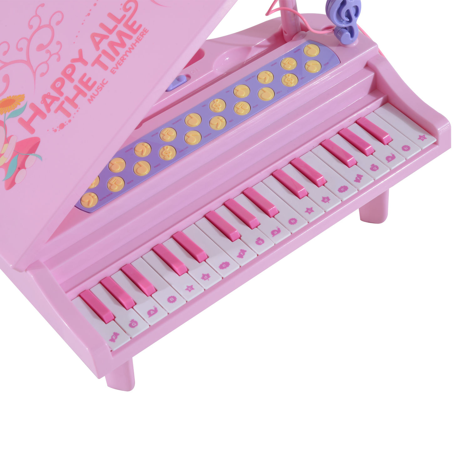 37 32 Key Kids Electronic Keyboard Mini Grand Piano Stool