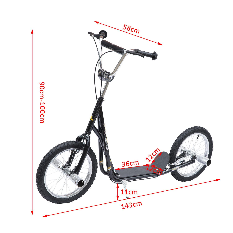 adult teen push stunt kick scooter kids children bike. Black Bedroom Furniture Sets. Home Design Ideas