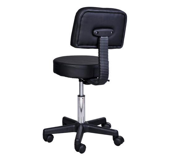 Massage-Stool-Beauty-Salon-Swivel-Gas-Lift-Manicure-Tattoo-Stools-Chair-2-Colour miniatuur 5