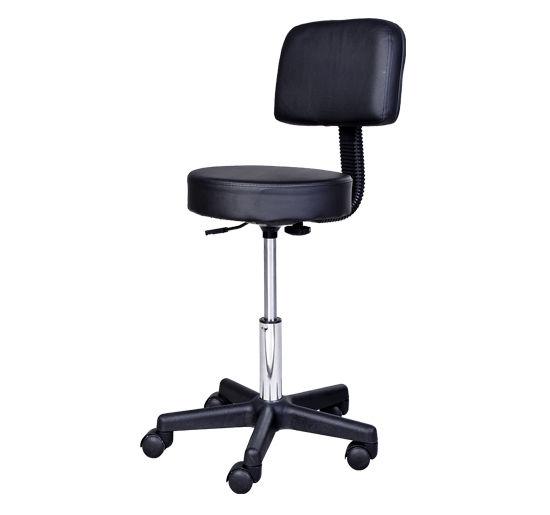 Massage-Stool-Beauty-Salon-Swivel-Gas-Lift-Manicure-Tattoo-Stools-Chair-2-Colour miniatuur 4