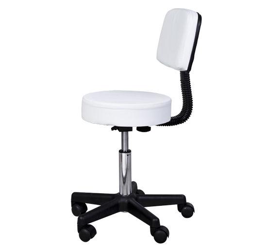 Massage-Stool-Beauty-Salon-Swivel-Gas-Lift-Manicure-Tattoo-Stools-Chair-2-Colour miniatuur 9