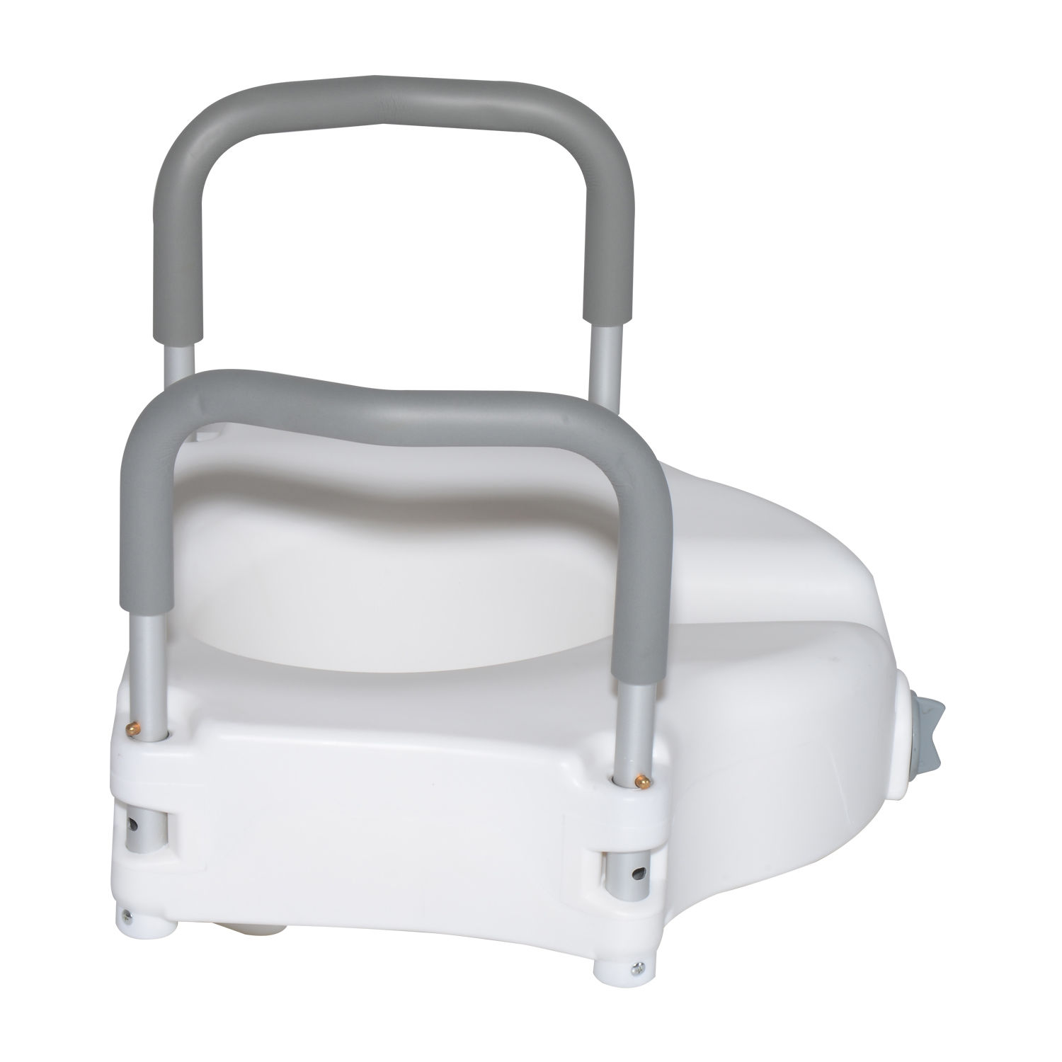 Raised Elevated Toilet Disability Aid Seat Padded Arms
