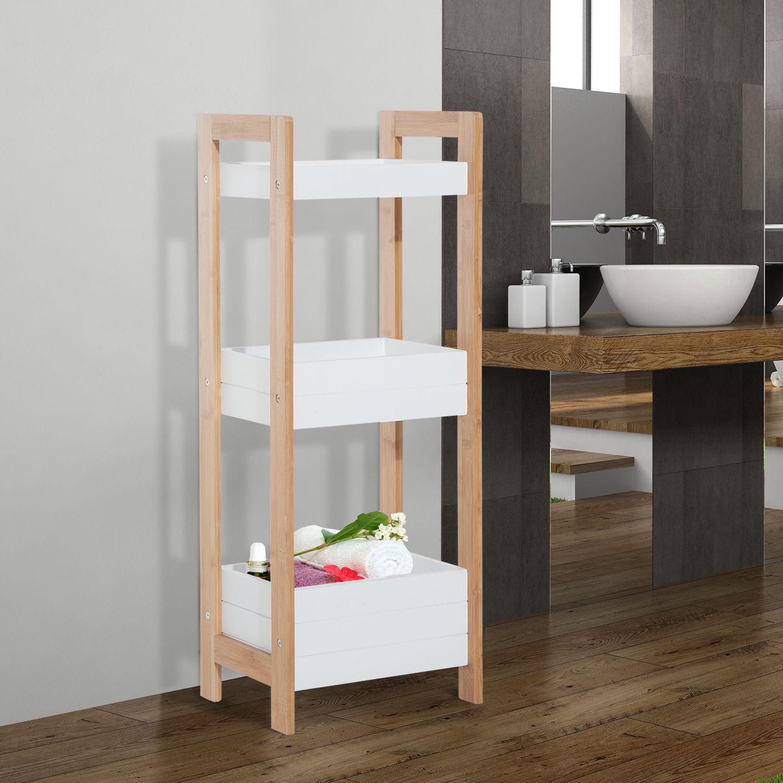 Wood Towel Ladder. Bathroom Towel Ladder Rack Organizer 3