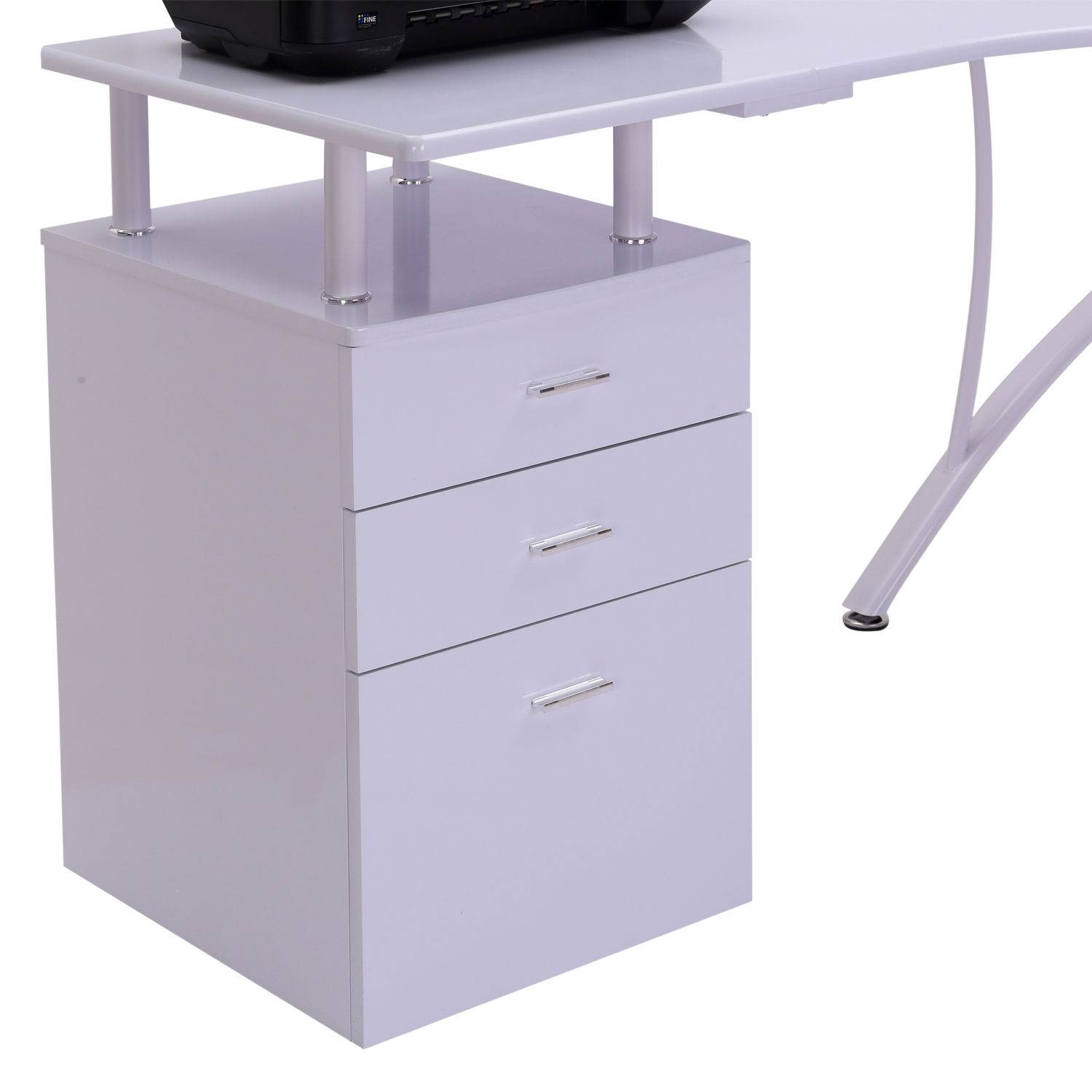 Modern Homeoffice Computer Desk: Corner Study Table L Shaped For Computer Desk PC Laptop