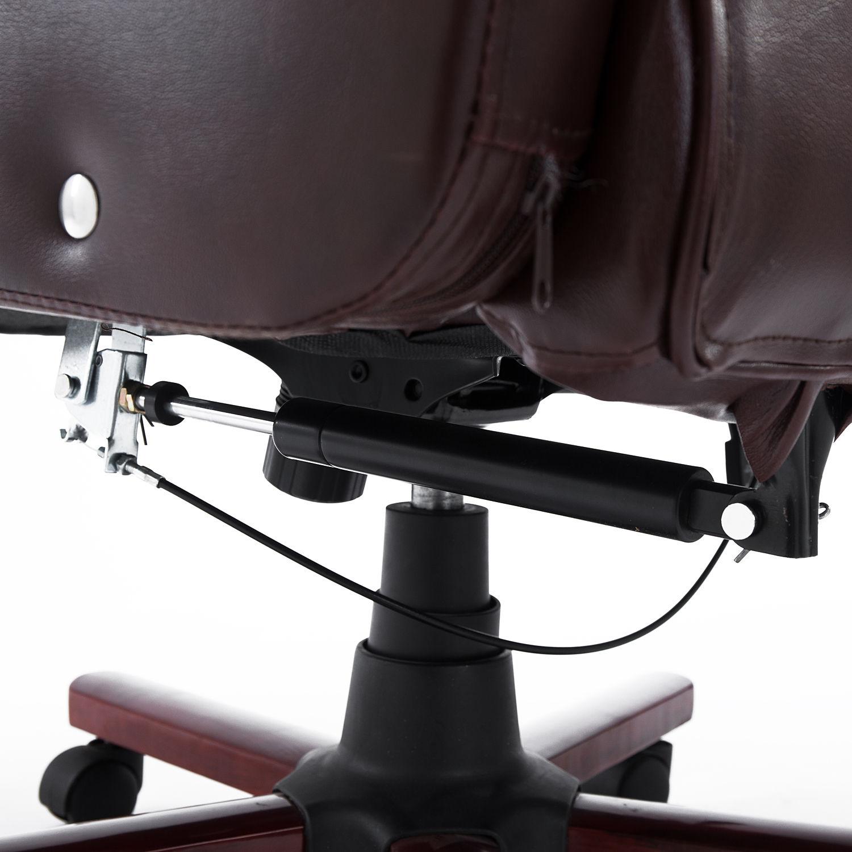 Pu Leather Computer Office Chair Adjustable Armrest 360 Degree Ergonomic Design Ebay