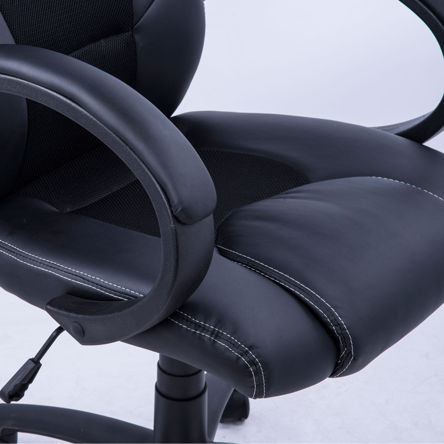 Racing Gaming Swivel Office Chair Pu Leather Computer Chairs Height Adjustable Ebay