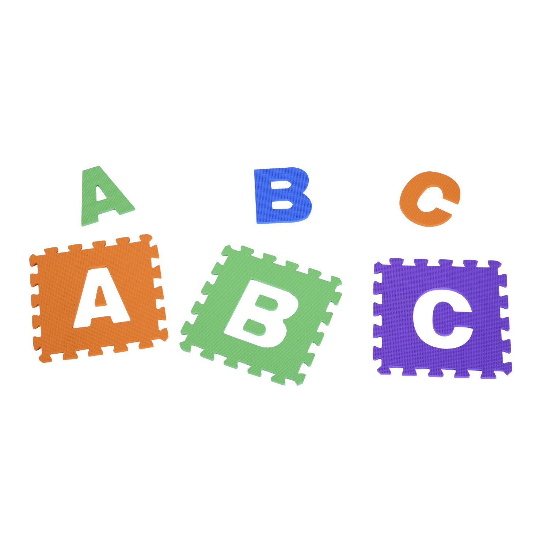 Kinder-Puzzlematte-Spielmatte-Bodenmatte-Spielteppich-Buchstabe