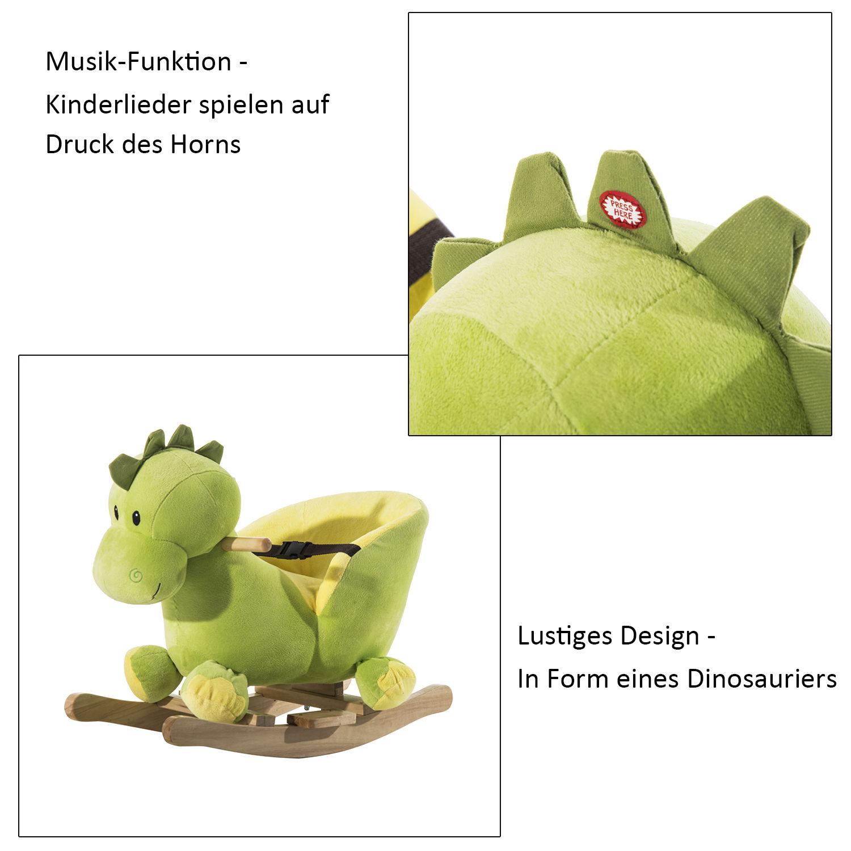 Schaukelpferd-Pluesch-Schaukeltier-Pferd-Lieder-Spielzeug-Kinder-Baby-19-Modelle
