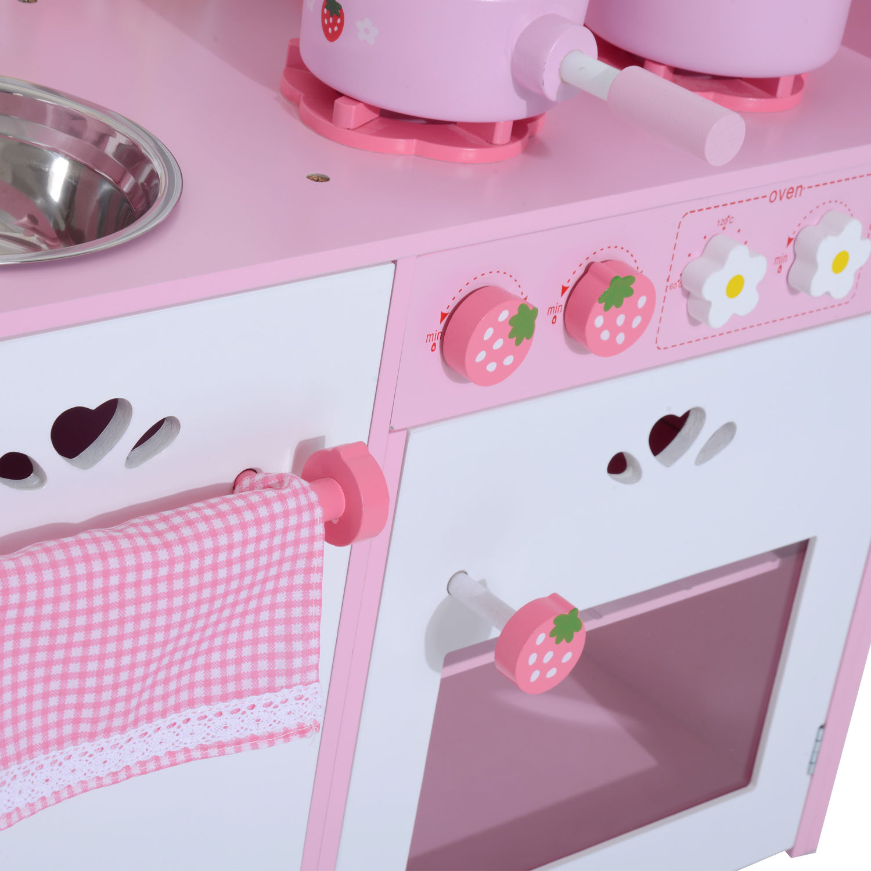 Homcom Kinderküche Spielküche Spielzeugküche Spielzeugküche Spielzeugküche Kinderspielküche Spielzeug 4 Modell b80c85