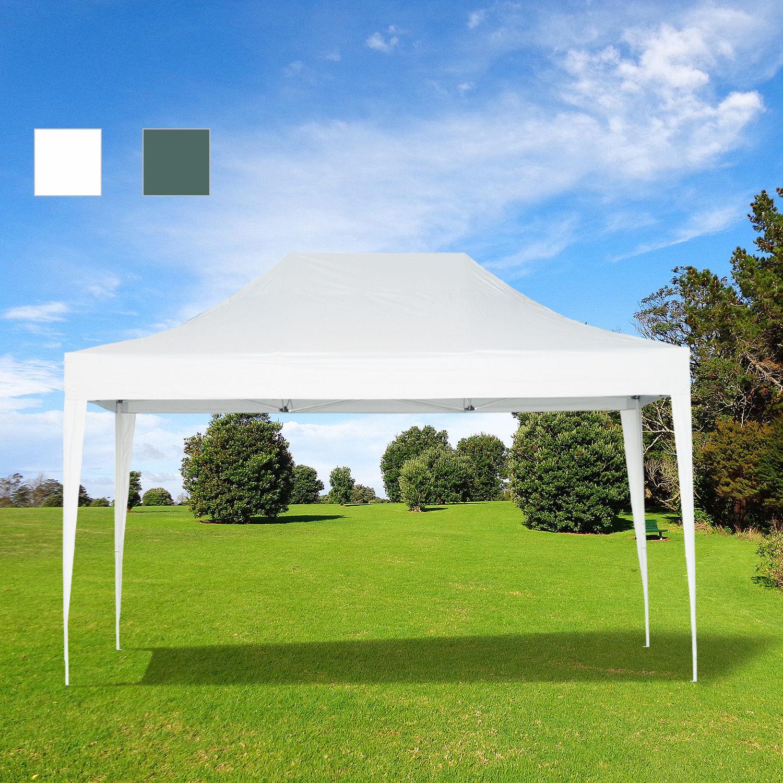 3 4 5m faltpavillon pavillon zelt partyzelt garten 2 for Garten pool 2 5m
