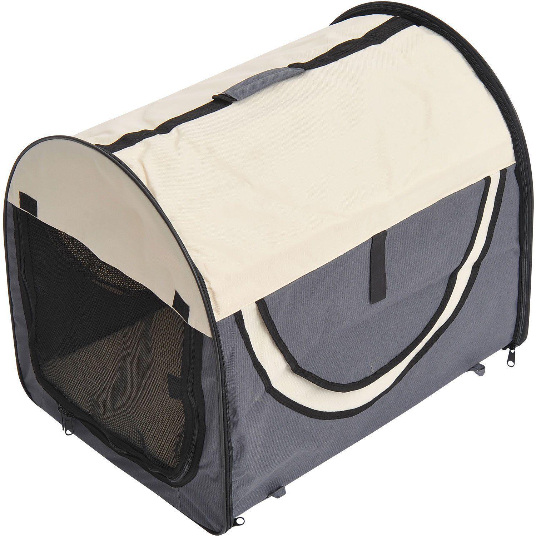 PawHut-Hundebox-faltbare-Hundetransportbox-Transportbox-Tier-2-Farben-5-Groessen Indexbild 9