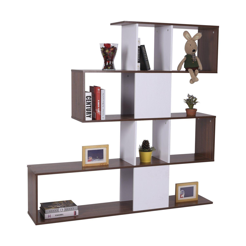 Homcom libreria di design stile vintage mobili ufficio for Mobili design ufficio