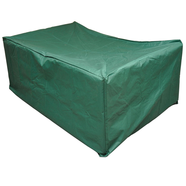 Funda para Muebles de Jardín Verde Cubierta de Protección con Ojales ...
