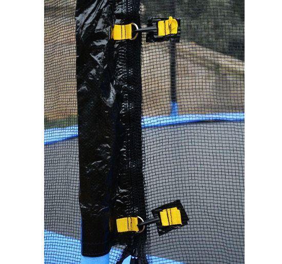 Red-de-Seguridad-Pared-Protectora-Cama-Elastica-Trampolin-Redonda-6-8-10-Barras miniatura 30