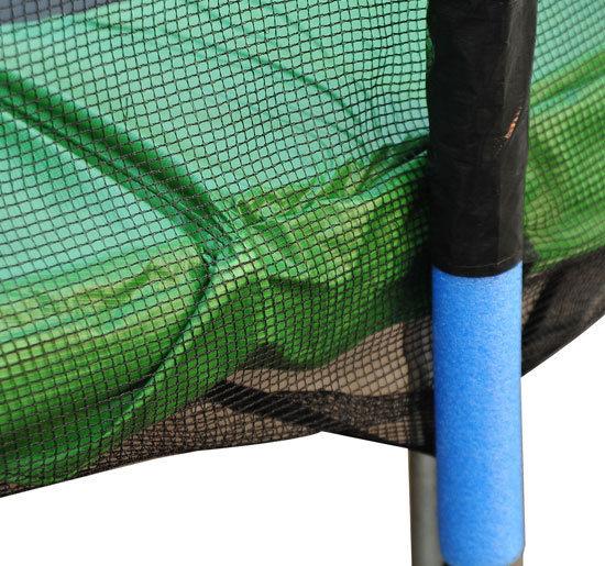 Red-de-Seguridad-Pared-Protectora-Cama-Elastica-Trampolin-Redonda-6-8-10-Barras miniatura 29